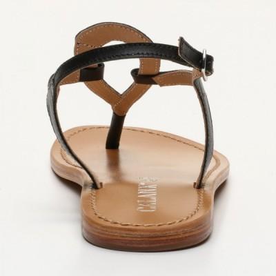 Sandales 100% cuir Gavea Coloris Argenté