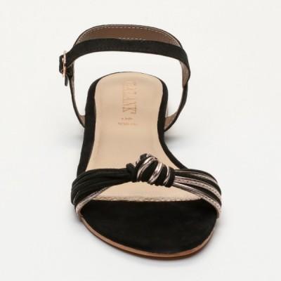 Sandales 100% cuir Itagua Doré