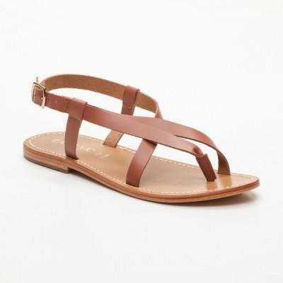 Sandales 100% cuir Niteroi Noir