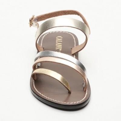 Sandales 100% cuir  Alameda Noir