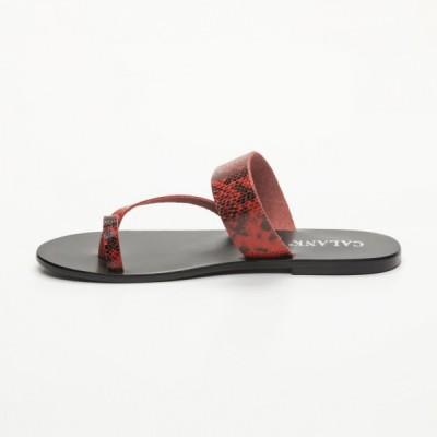 Sandales 100% cuir  Arantes Noir