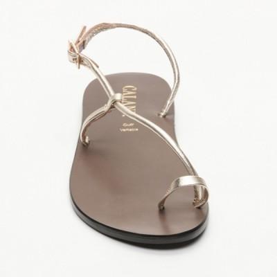 Sandales 100% cuir Lapa Noir