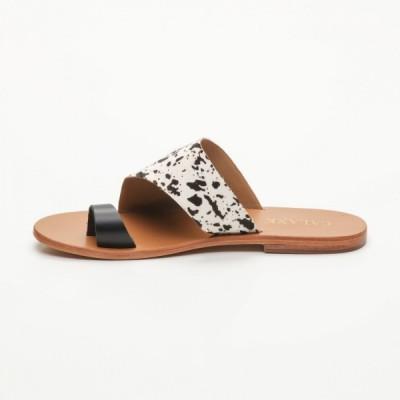 Sandales 100% cuir Feiticeira Coloris Doré