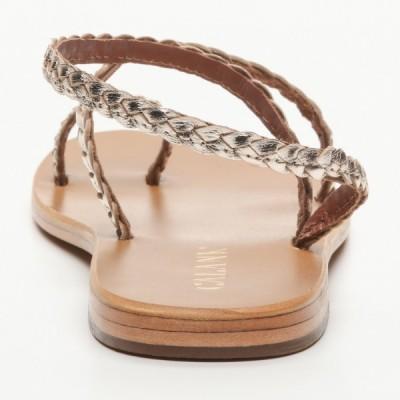 Sandales 100% cuir Lierre Noir