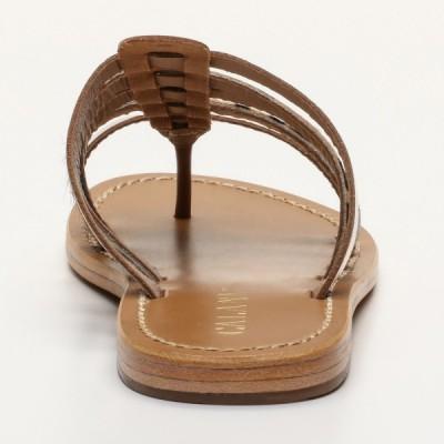 Sandales 100% cuir Antrium Noir