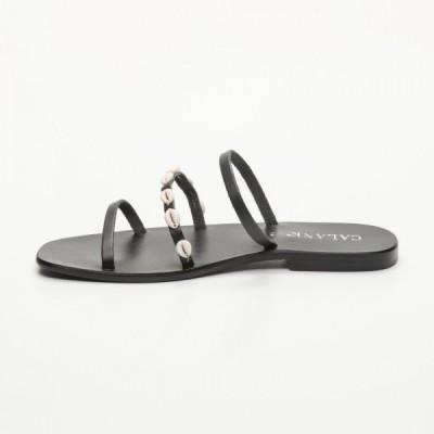 Sandales 100% cuir Jazmin Noir