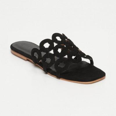 Sandales Roxa Black Calank pour femme 100% Cuir