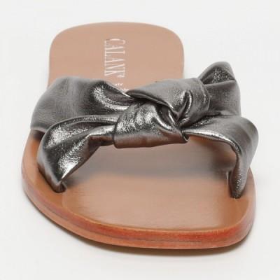 Sandales 100% cuir Laurina Noir