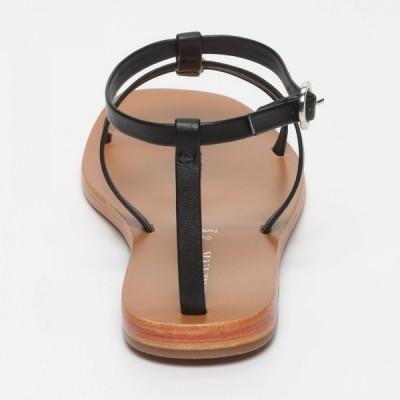 Sandales 100% cuir Tamboritha Marron Clair, Bronze Et Argenté