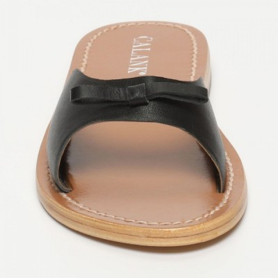 Sandales Givouch Black Calank pour femme 100% Cuir