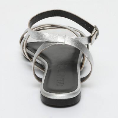 Sandales 100% cuir Westringia Marron Clair